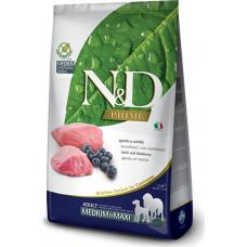 Farmina N&D Prime Adult Dog Medium&Maxi Lamb&Blueberry