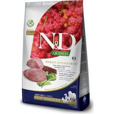 Farmina N&D Quinoa Adult Dog Weight Management Lamb