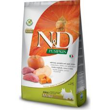 Farmina N&D Pumpkin Adult Dog Mini Boar&Apple