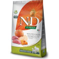 Farmina N&D Pumpkin Adult Dog Medium&Maxi Boar&Apple
