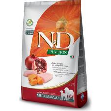 Farmina N&D Pumpkin Adult Dog Medium&Maxi Chicken&Pomegranate