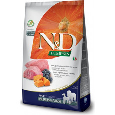 Farmina N&D Pumpkin Adult Dog Medium&Maxi Lamb&Blueberry