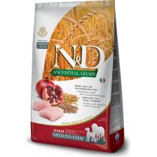Farmina N&D Ancestral Senior Dog Medium&Maxi Chicken&Pomegranate