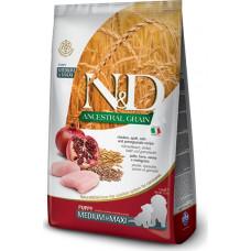 Farmina N&D Ancestral Puppy Medium&Maxi Chicken&Pomegranate