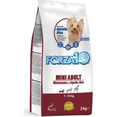 Forza 10 Mini Adult Maintenance Lamb and Rice