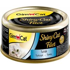GimCat Shiny Cat Filet (тунец)