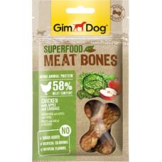 GimDog Superfood Meat Bones Chicken, Apple, Cabbage