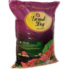 Grand Dog Meat для средних и крупных пород с кусочками мясопродуктов говяжьих (легкое и рубец)