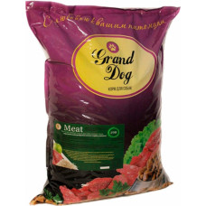 Grand Dog Meat для мелких пород с кусочками мясопродуктов говяжьих (легкое и рубец)