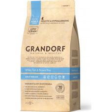 Grandorf Cat Adult Indoor White Fish & Brown Rice
