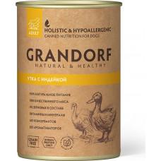 Grandorf Dog Adult Grain Free Утка c Индейкой