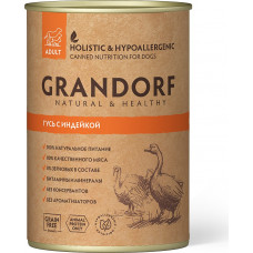 Grandorf Dog Adult Grain Free Гусь c Индейкой