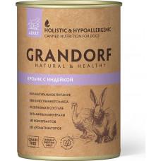 Grandorf Dog Adult Grain Free Кролик c Индейкой