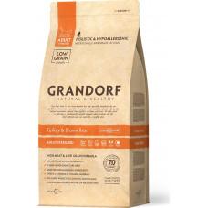 Grandorf Cat Adult Sterilised Turkey & Brown Rice