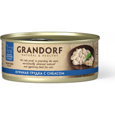 Grandorf Cat Chicken with Seabass in Broth