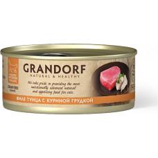 Grandorf Cat Tuna with Chicken in Broth