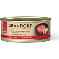 Grandorf Cat Tuna with Prawn in Broth