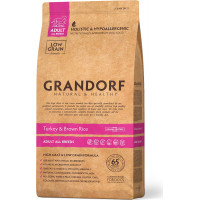 Grandorf Dog Adult All Breeds Turkey & Brown Rice