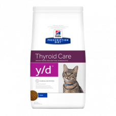 Hill's Prescription Diet Feline Thyroid Care y/d Chicken