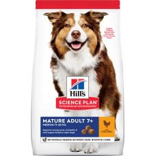 Hill's Science Plan Canine Mature Adult 7+ Medium Chicken
