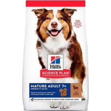 Hill's Science Plan Canine Mature Adult 7+ Medium Lamb & Rice