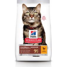 Hill's Science Plan Feline Mature Adult 7+ Hairball Indoor Chicken