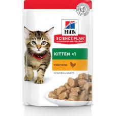 Hill's Science Plan Kitten Chunks & Gravy Chicken