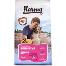Karmy Sensitive Medium & Maxi / Лосось