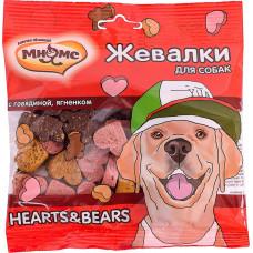 Мнямс Жевалки Hearts & Bears с говядиной и ягненком