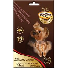 Мнямс Деликатес Лакомые палочки для собак Дикий кабан с лесными ягодами 3х11 г