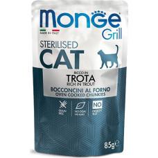 Monge Cat Grill Grain Free Sterilised Trout