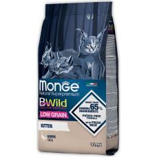 Monge BWild Cat Low Grain Kitten Goose