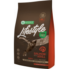 Nature's Protection Cat Lifestyle Grain Free Salmon Krill