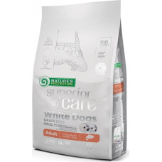 Nature's Protection Dog Superior Care White Dogs Grain Free Salmon Adult Small & Mini Breeds