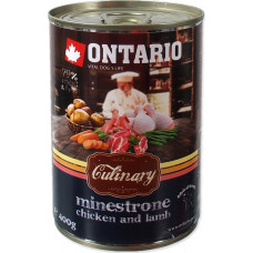 Ontario Culinary Minestrone Chicken and Lamb