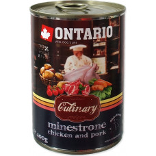 Ontario Culinary Minestrone Chicken and Pork