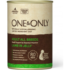 One&Only Dog Adult All Breeds Lamb in Jelly