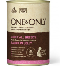 One&Only Dog Adult All Breeds Rabbit in Jelly