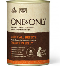 One&Only Dog Adult All Breeds Turkey in Jelly