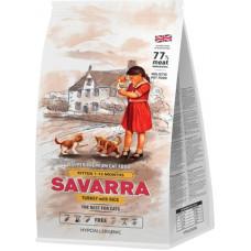 Savarra Hypoallergenic Kitten Turkey & Rice