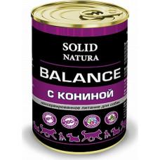 Solid Natura Balance Dog / Конина