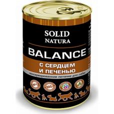 Solid Natura Balance Dog / Сердце и Печень