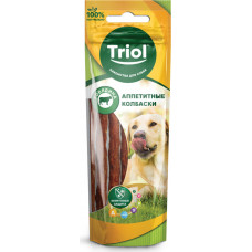 Triol Аппетитные колбаски для собак (говядина) 40 г