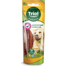 Triol Аппетитные колбаски для собак (утка) 40 г
