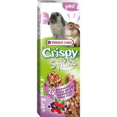Versele-Laga Crispy Палочки для кроликов и шиншилл с лесными ягодами 2х55 г