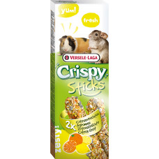 Versele-Laga Палочки для морских свинок и шиншилл Crispy с цитрусовыми