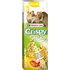 Versele-Laga Crispy Палочки для хомяков и крыс с попкорном и медом 2х50 г