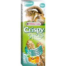 Versele-Laga Crispy Палочки для хомяков и белок с экзотическими фруктами 2х55 г