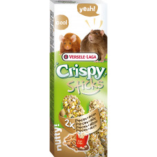 Versele-Laga Crispy Палочки для крыс и мышей с попкорном и орехами 2х55 г