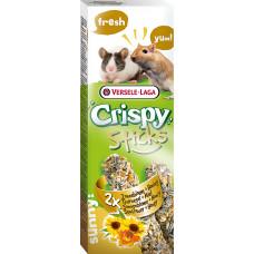 Versele-Laga Crispy Палочки для песчанок и мышей с подсолнечником и медом 2х55 г